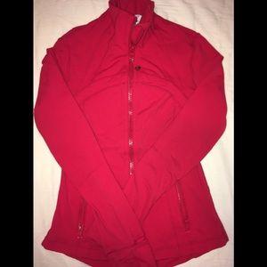 Lululemon red jacket